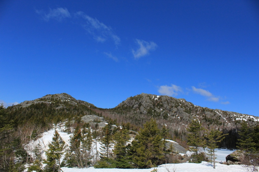 View of Tumbledown from Tumbledown Pond, Weld, Maine