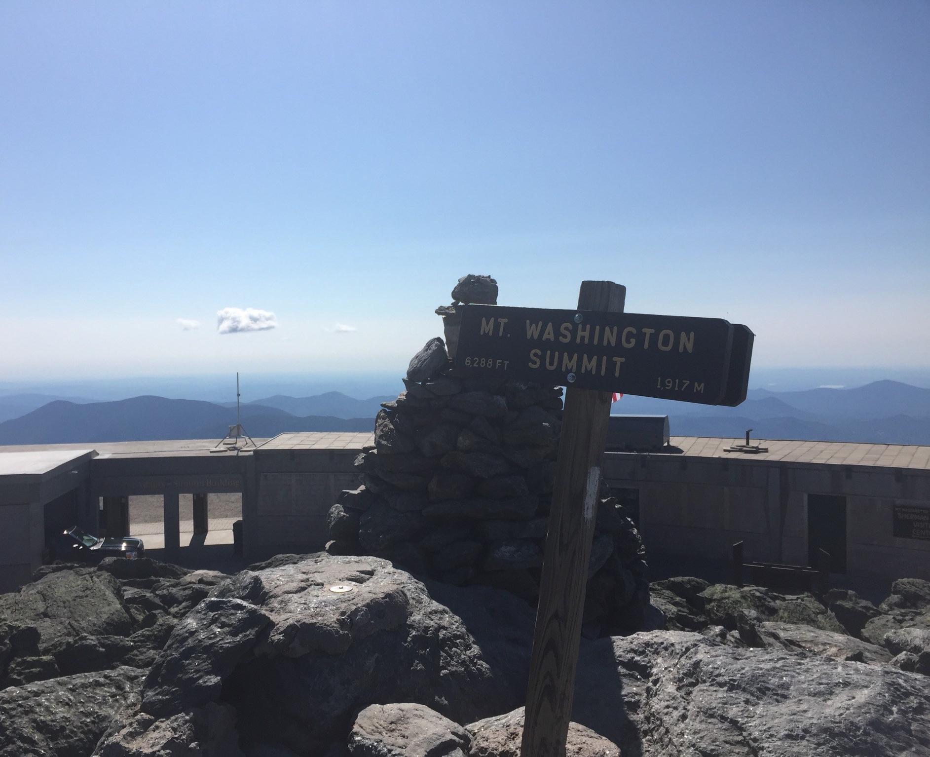 Mt. Washington Summit.