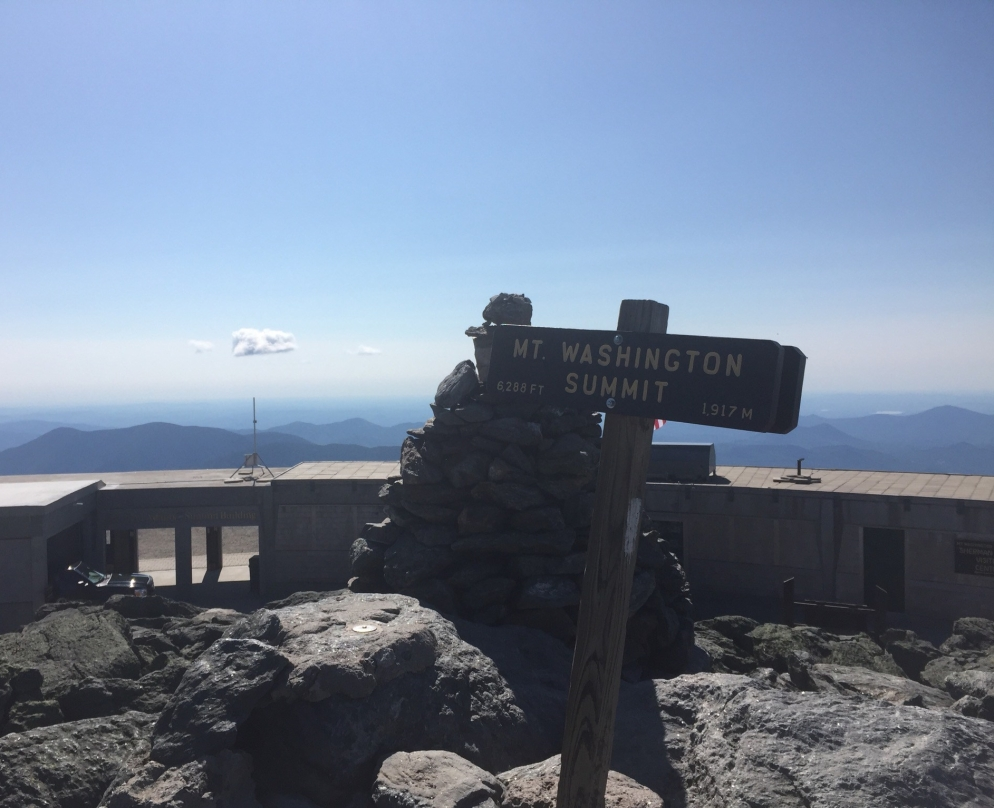 Mt. Washington Summit.