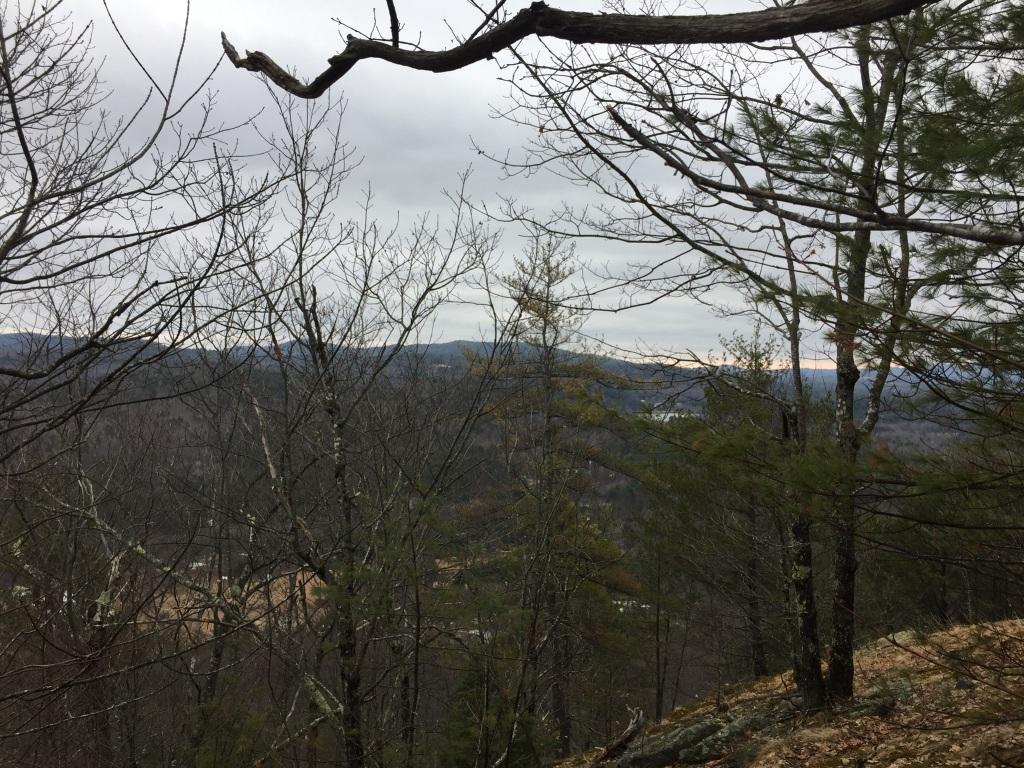 Looking down towards Hiram from Mt. Cutler