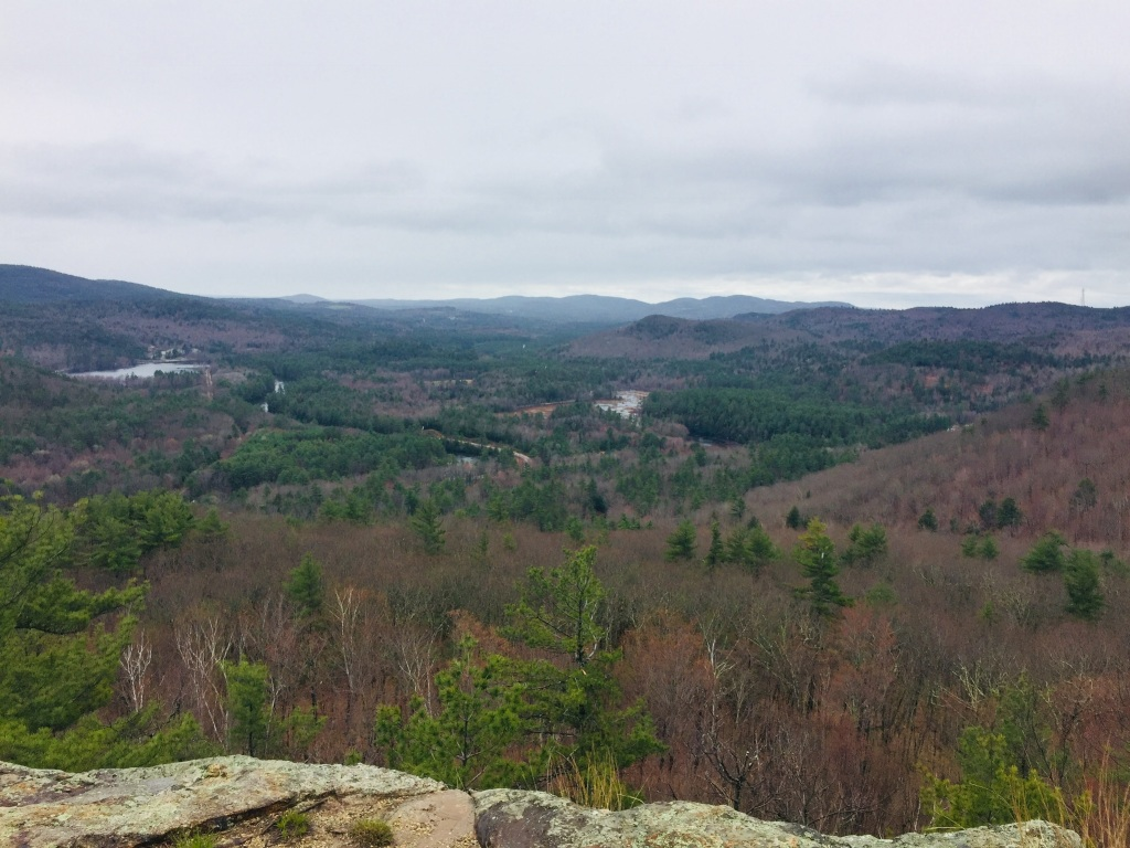 View of Saco River Valley from Mt. Cutler, Hiram, Maine