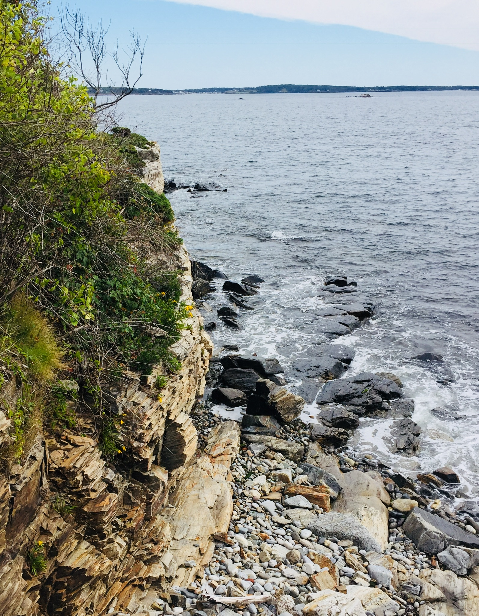 Cliff Walk at Prouts Neck, Scarborough, Maine