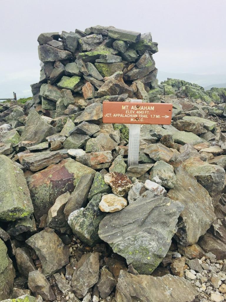 Summit cairn, Mount Abram, Kingfield, ME