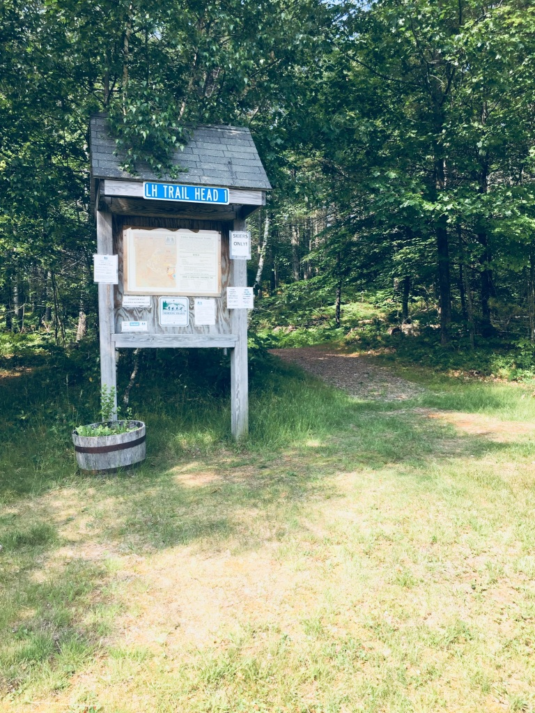 Libby Hill Trails Trailhead in Gray, ME
