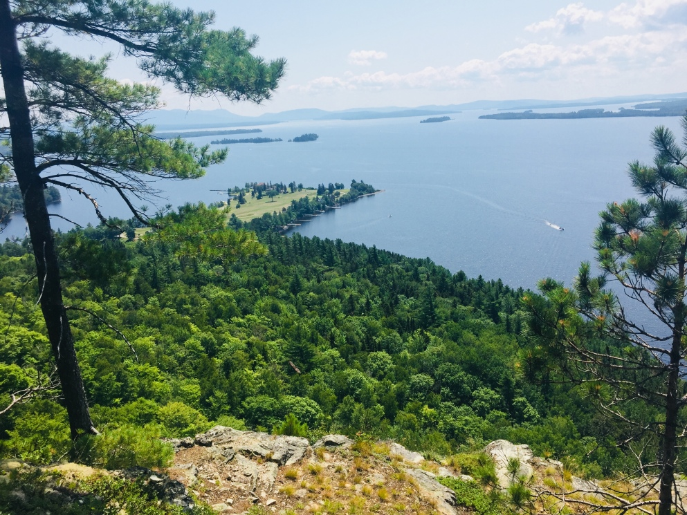 Overlook from the Indian Trail, Mt. Kineo, Moosehead Lake