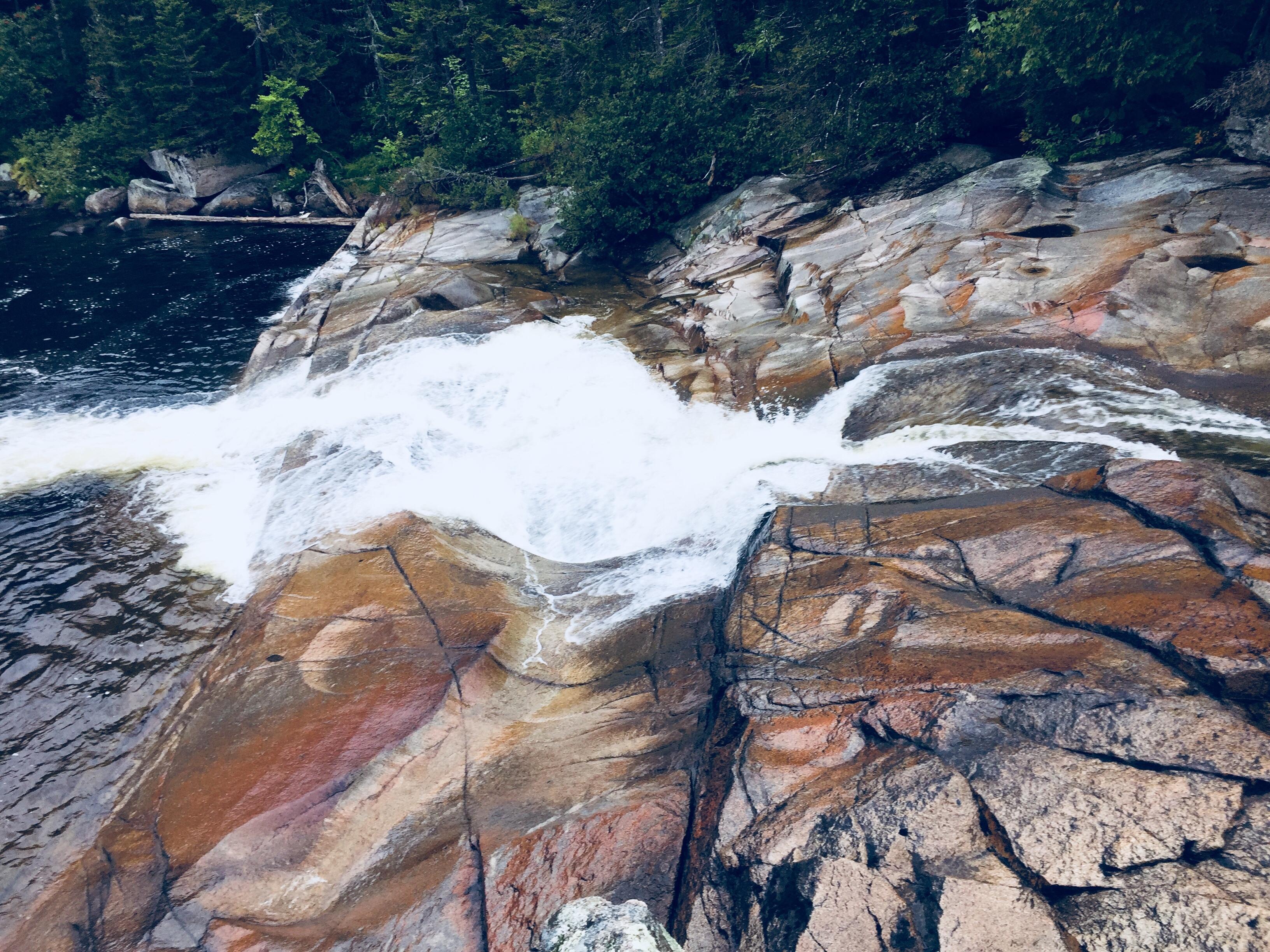 Little Niagara Falls, Baxter State Park